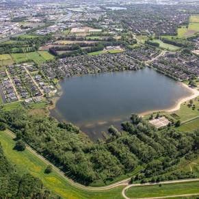 Asterdplas, breda, luchtfoto, Luchtfotografie, Wijk: Haagse Beemden